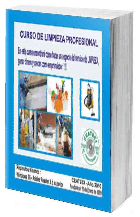 Limpieza profesional curso ebook de CEATECI