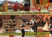 lima peru salones de fiestas y eventos chifa circulo militar  capacidad para 300 personas