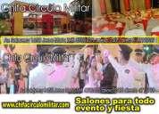 Fiestas eventos salón de eventos y fiestas lima peru jesus maria chifa circulo militar