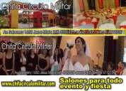 Fiestas y eventos salón de eventos lima perú chifa circulo militar salones de jesús mari