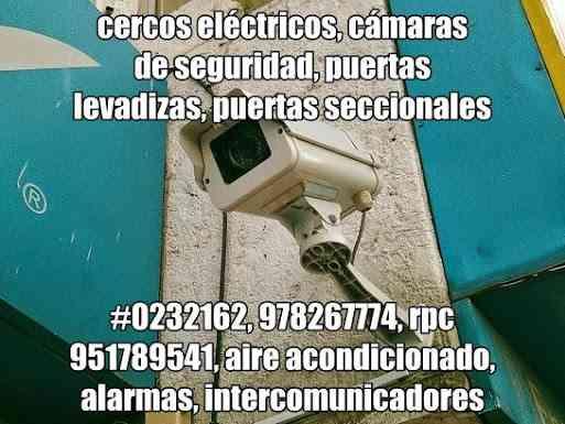 978267774, puertas levadizas piura, puertas seccionales, cámaras de seguridad, cercos electricos
