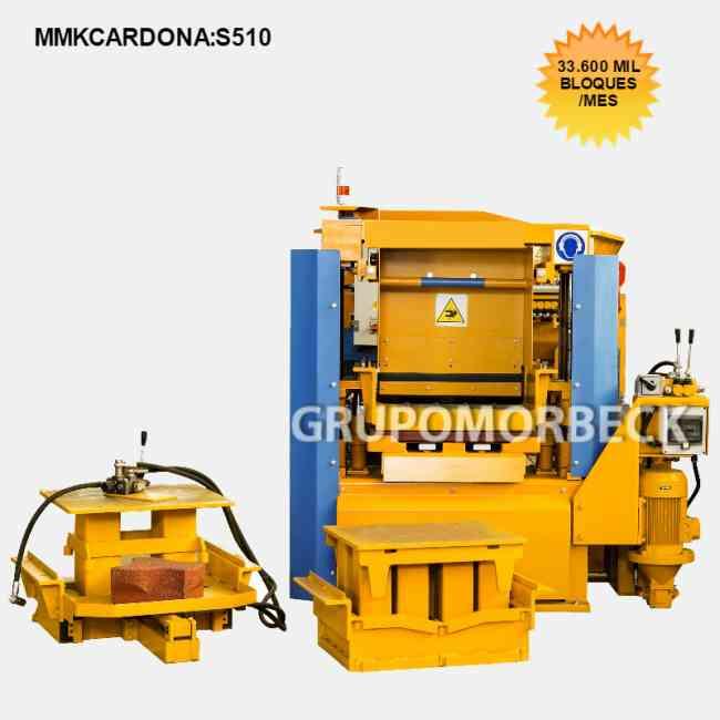 Máquinas para fabricar Bloques diversos modelos nuevas.