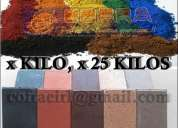 Ventas de ocre de colores importada calidad garantizada