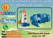 Mantenimiento  y reparacion de bomba pedrollo sumergible