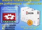 Sakura termas gas servicio tecnico especializado