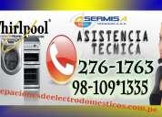 tecnicos a domicilio → servicio especializado whirlpool ← 7992752 (callao)