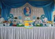 DecoraciÓn de frozen para fiestas infantiles lima