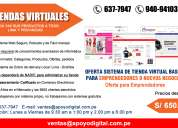 Sistema de venta online para mypes