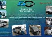 F&j travel - transporte de personal y turistico