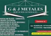 G&j metales y servicios generales