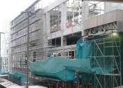 Venta andamios de fachada,  multidireccionales  venta y alquiler andamios normados y certificados