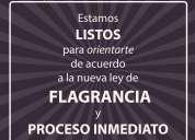 Abogados penales - nueva ley de flagrancia - 24 horas - ncalagua abogados