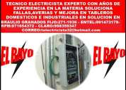 Electricista lima las 24hrs domicilio emergencias 991473178 - 971654372