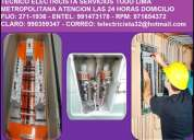Electricista mirafflores,surco,san isidro,san borja, 991473178