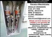 Electricista san miguel 24 horas domicilio instalacion 991473178 - 835*9347
