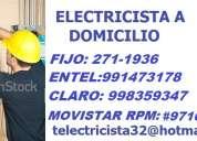 Electricista san miguel 24 horas canaleteado 991473178 - 835*9347