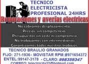 Electricista a domicilio 24 hrs lince, jesus maria, pueblo libre san miguel, magdalena 991473178