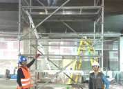 Fabricación venta y alquiler andamios multidireccionales y accesorios venta y alquiler andamios
