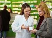 Atencion quimico farmaceutico elabora poes para apertura