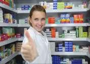 Farmaceutico elabora manuales  tambien poes