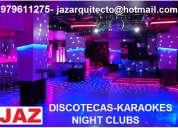 DiseÑo y construccion de discotecas, karaokes, night clubs