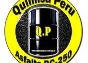 Venta de asfalto liquido imprimante asfalto rc250 - perú quimisa