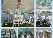 Baby  shower ,servicio  de  decoración , toldos , candy  bar , recuerdos