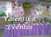 Tinkerbell y campanita en tus fiestas  infantiles , decoración , candy bar  y toldos infantiles