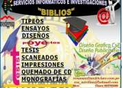servicios informÁticos biblios