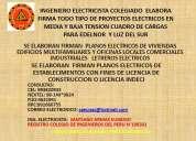 Planos electricos cuadro de cargas para edelnor luz del sur