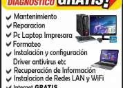 Servicio tÉcnico de computadoras a domicilio diagnostico gratis!!!!