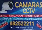 Camaras videovigilancia - dvr - alarmas - cerco electrico