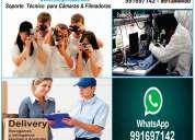 Reparacion camaras y filmadoras en lima san isidro . servicio tecnico