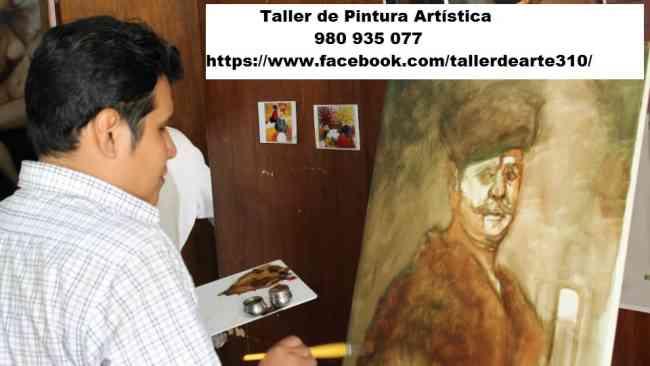 Taller de Pintura Artística en el centro de Lima.