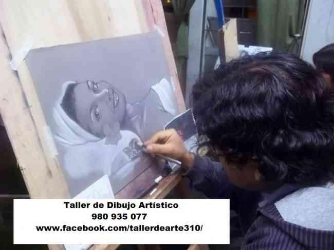 Taller de Dibujo y Pintura, clases para público en general.