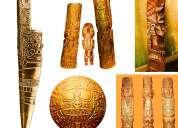 """Incas wood carving - imagenes ancestrales talladas en madera """"estylo perfecto"""""""