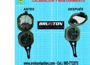Calibración de equipos de medición, brújulas, nivel automatico, gps, teodolitos, estación total