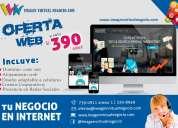 Páginas web, oferta de páginas web