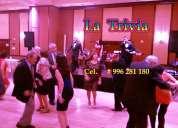 #matrimonios #bodas #fiestas #orquesta para cumpleaños #50años orquesta la trivia en lima perú