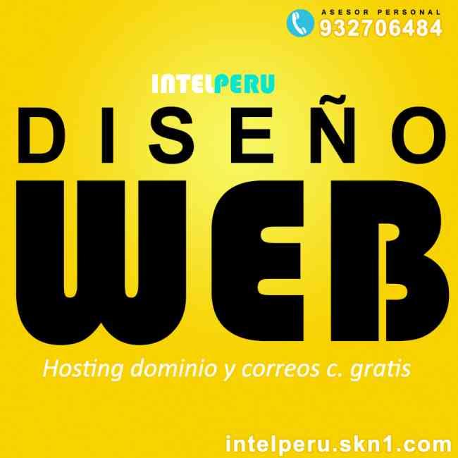 CREACION Y DESARROLLO DE PAGINA WEB ADMINISTRABLE TIENDA VIRTUAL HOSTING Y DOMINIO GRATIS