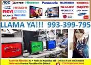 Reparacion de pantallas lcd plasma led smart tv samsung sharp lg sony panasonic aoc  a domicilio