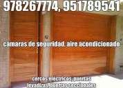 951789541, concertinas lima, puertas levadizas, puertas seccionales, cercos eléctricos