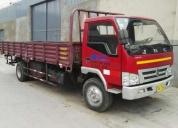 Excelente camion con baranda rebatible