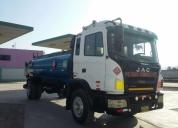 Vendo cisterna de combustible marca jac año 2010