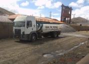 Alquiler de camiones cisternas, contactarse.