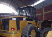 Excelente cargador frontal 950g caterpillar