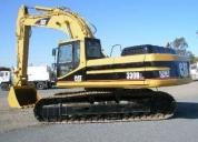 Excelente excavadora caterpillar 330 bl sobre oruga
