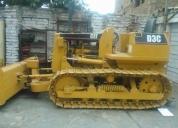 Vendo tractor cat d3c  venta