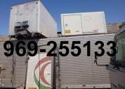 Venta furgones con o sin frio para camiones,camioncitos, contactarse.