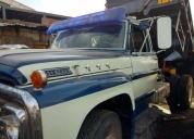 vendo excelente volquete ford 600